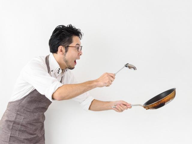 料理が苦手な男性