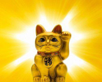 黄金の招き猫