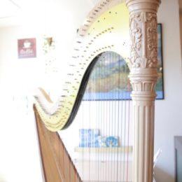楽器ハープ