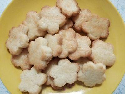 薄力粉と牛乳クッキー