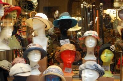 帽子売り場